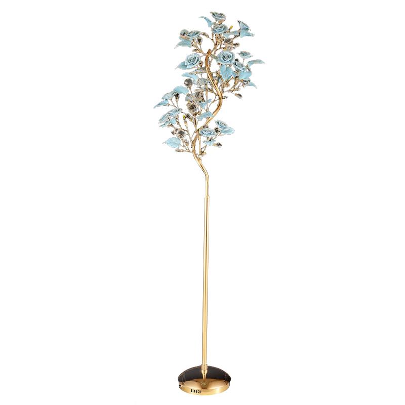 AM9986F ROSES FLOOR LAMP