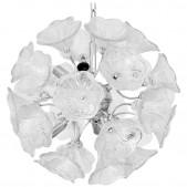 DV5519 Clear Flowers Sputnik