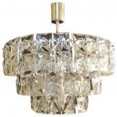 IQ8326 CHROME CRYSTAL GLASS CHANDELIER LAMP