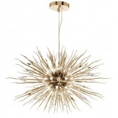 IQ8277 CRYSTAL BURST CONTEMPORARY CHANDELIER