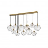 IQ8156 60 INCH 13 LIGHT LINEAR SUSPENSION LIGHT