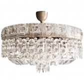 IQ8258 ART DECO LOW PLAFONNIER CHANDELIER