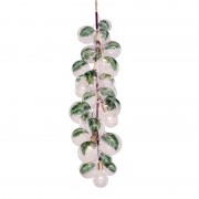 JR1970 X-Tall Palm Bubble Chandelier