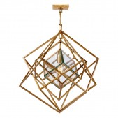 JR2001 Cubist Small Chandelier