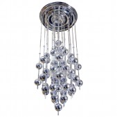 MV3026 METTALIC BALL CHANDELIER