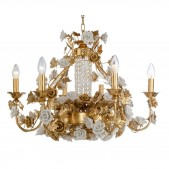 IQ2108 GOLD FLOWER LUSTRE