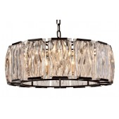 WM2054 Chelsea 7 Light Black Ceiling Light Pendant
