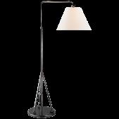 IQ8126 BROMPTON SWING ARM FLOOR LAMP