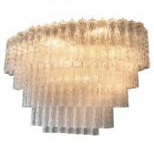 QZ2126 VENINI MURANO GLASS CHANDELIER