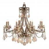 IQ8229 BARDOT TWO-TIERED CHANDELIER