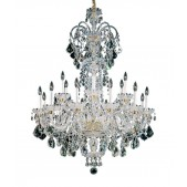 QZ6816 OLDE WORLD CRYSTAL CHANDELIER
