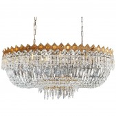 IQ8259 LOW OVAL PLAFONNIER CHANDELIER