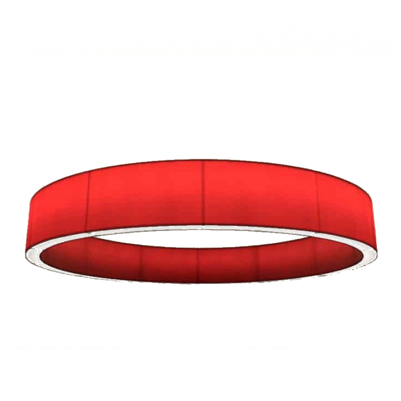 AM1848 MUSE ROUND SHADE FABRIC LAMP