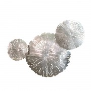 AM352 Lily Pad Cluster Sconces