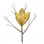 KA1027 TWIG AND LEAF SCONCE